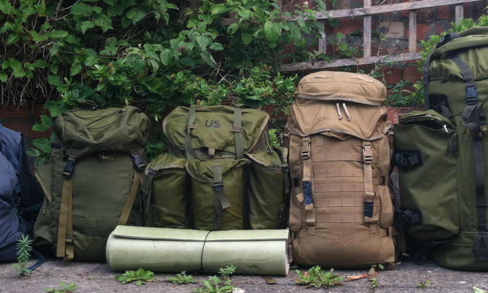 My Favourite Rucksacks for Outdoor Use