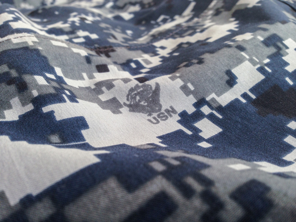 US Navy Digital Camouflage