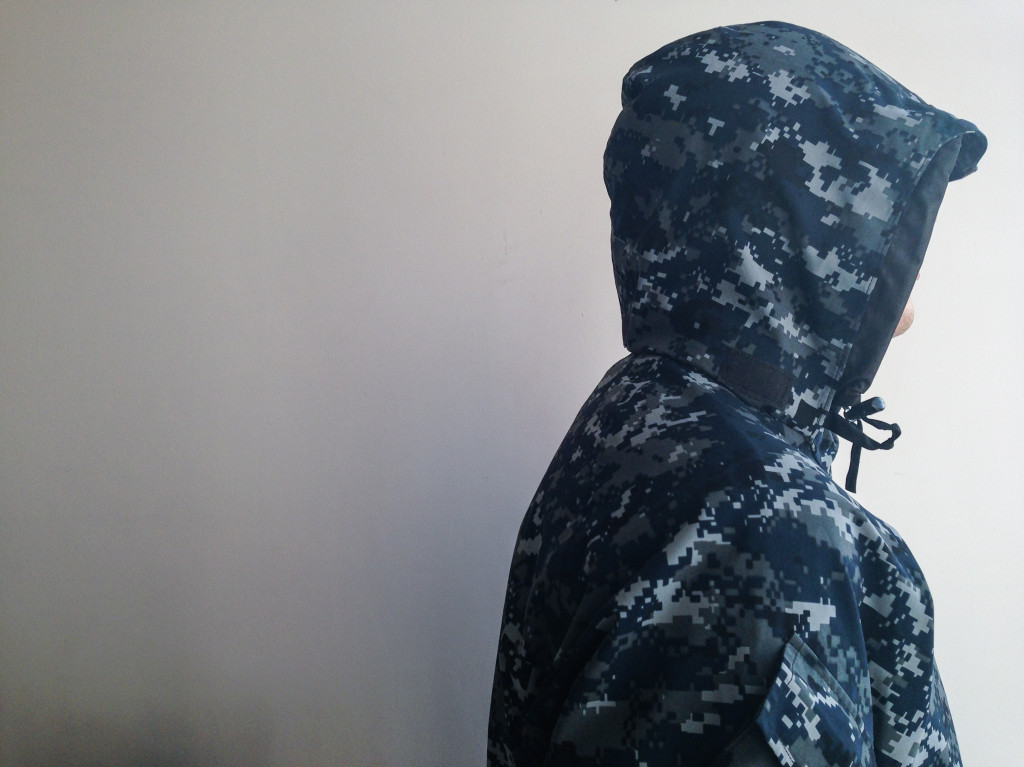 US Navy Parka hood