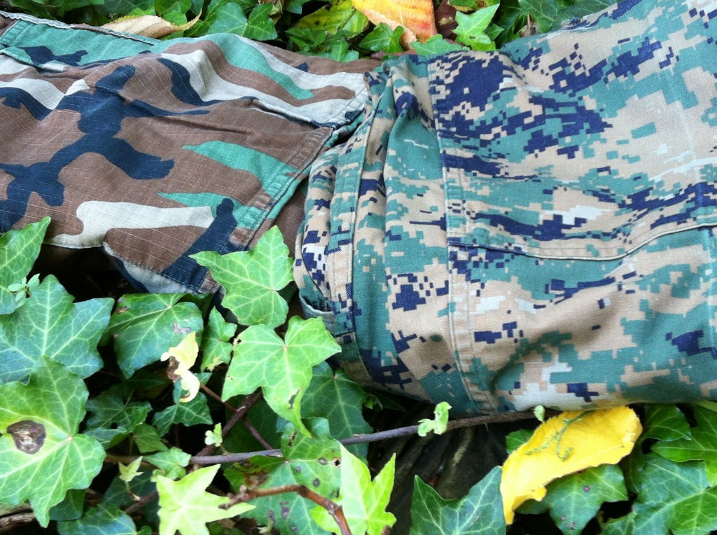 US Woodland vs MARPAT